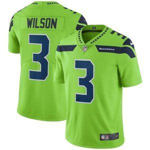 Russell Wilson Seattle Seahawks Jersey